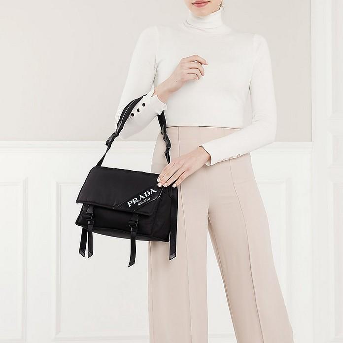 497f6a3951ed Prada Logo Crossbody Bag Nylon Black - Prada. €829,50 €1.185,00 Actual  transaction amount
