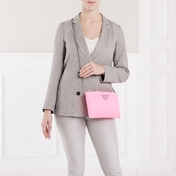 fc7337e083f1 Clutch Padded Nylon 2 Neon Pink - Prada.  663.75  885.00 Actual transaction  amount