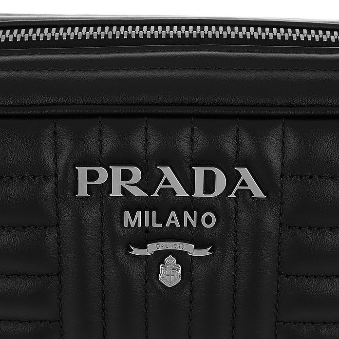 6d0c82bda1ec54 Facebook · Twitter · Pinterest · Share on Tumblr. Diagramme Large Camera  Bag Black2 - Prada. £1,038.00 Actual transaction amount