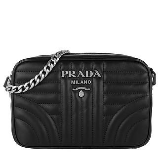 d94ba9f0649b Diagramme Camera Bag Leather Black 2 - Prada