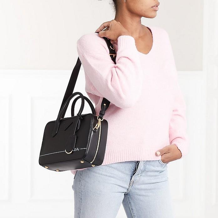 970245045856b6 Mirage Small Leather Bag Black - Prada. $2,388.00 Actual transaction amount