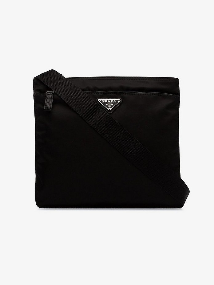 Black Bandolera cross body bag - Prada