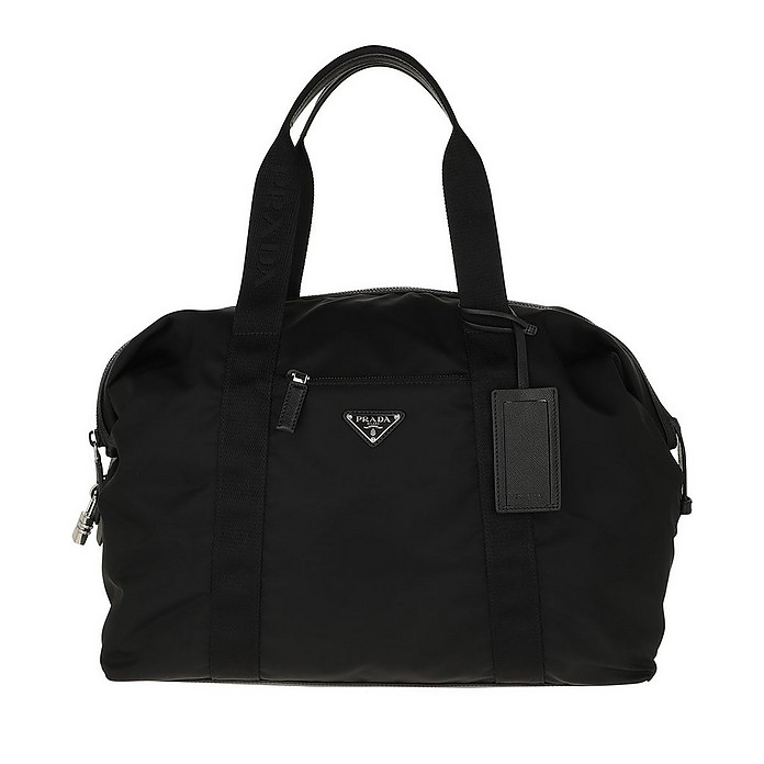 Gym Bag Vela Black - Prada / プラダ
