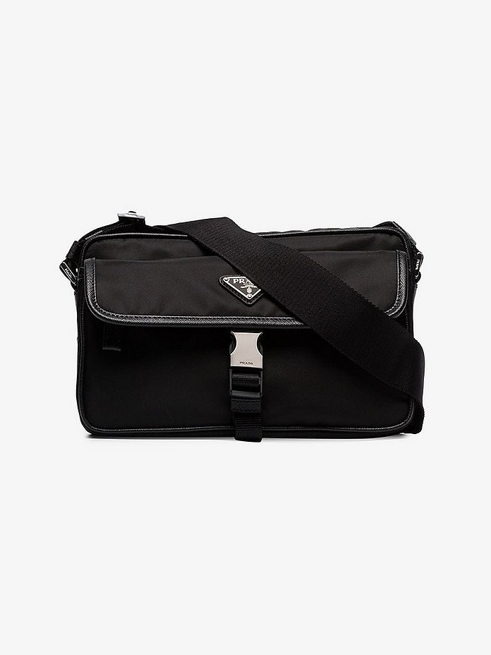 Prada Accessories Logo plaque messenger bag