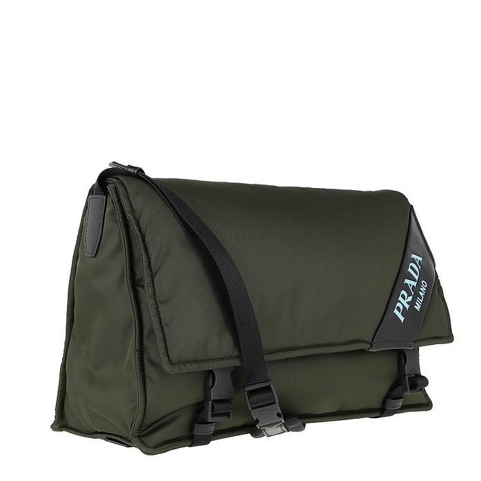 854b6ff0b3ee3b Logo Crossbody Bag Large Nylon Militare - Prada. $1,630.00 Actual  transaction amount