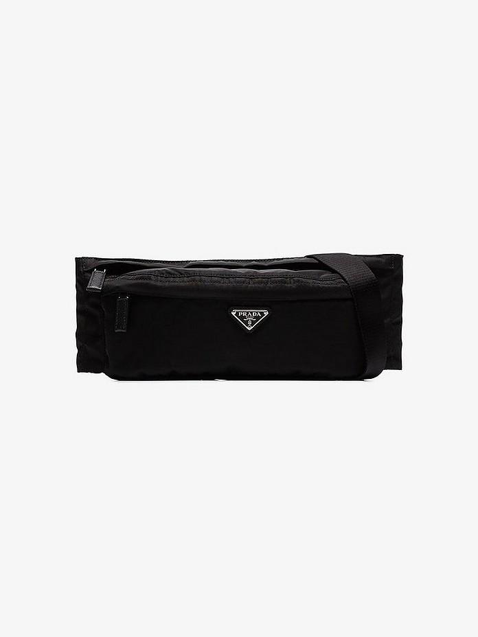 Prada Belt Black Nylon Belt Bag