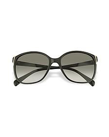 Square Frame Plastic Sunglasses - Prada
