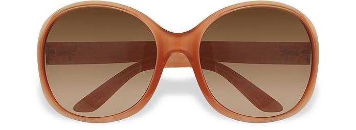 Солнцезащитные Очки в Круглой Оправе из Ацетата - Prada