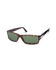 Arrow Signature Rectangular Plastic Sunglasses - Persol
