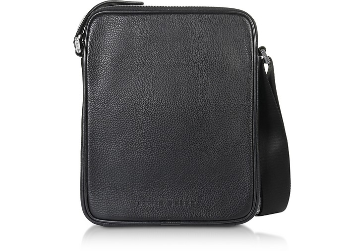 Cervo 2.0 MV Borsa Crossbody in Pelle Nera - Porsche Design
