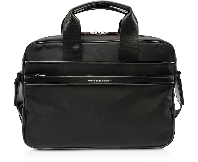 Lane SHZ Black Briefbag - Porsche Design