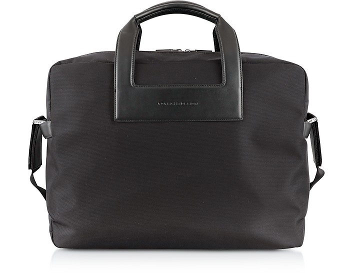 Metropolitan LHZ Black Brief Bag - Porsche Design