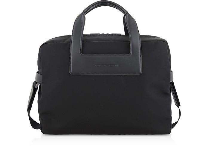 Metropolitan SHZ Black Brief Bag - Porsche Design