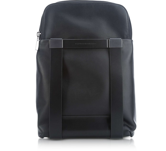 Shyrt 2.0 Black Leather BackPack MVZ - Porsche Design
