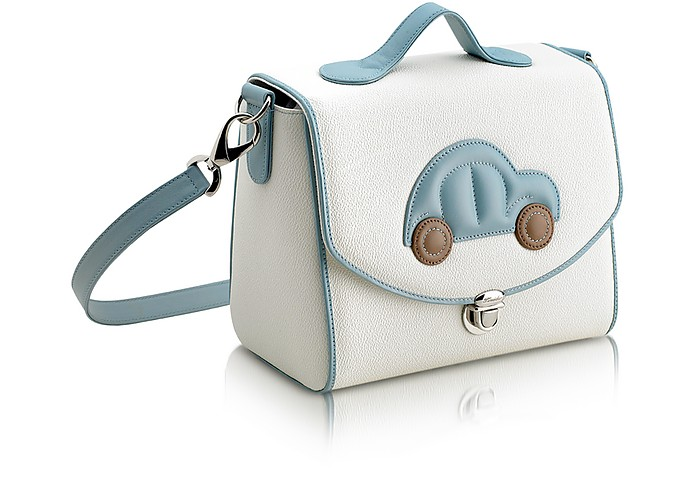 Blue Car Snack Bag  - Pineider