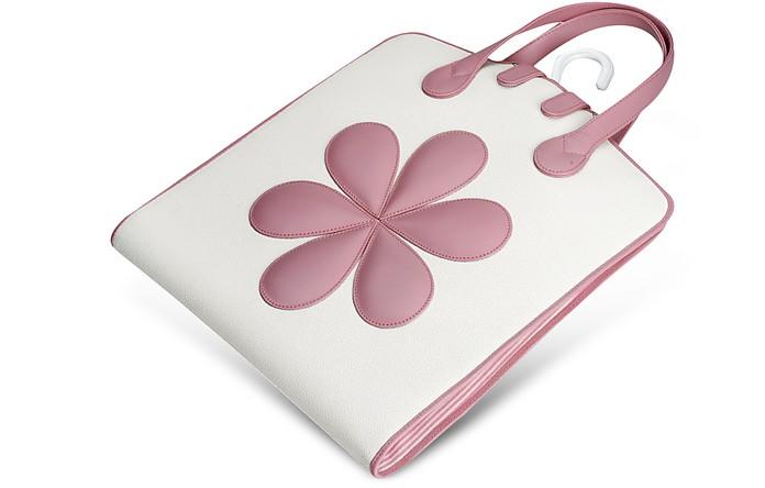 Baby Kleidersack mit Blumen in rosa - Pineider