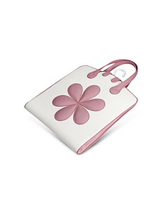 Pink Flower Baby Garment Bag  - Pineider