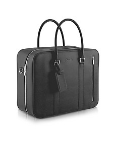 City Chic - Double Handle Calfskin Briefcase - Pineider