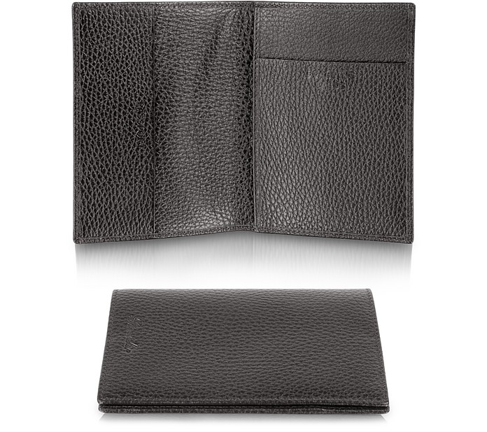 Country - Genuine Leather Passport Holder - Pineider