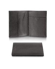 Country - Genuine Leather Passport Holder - Pineider