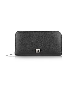 City Chic - Women's Zip Around Calfskin Wallet - Pineider