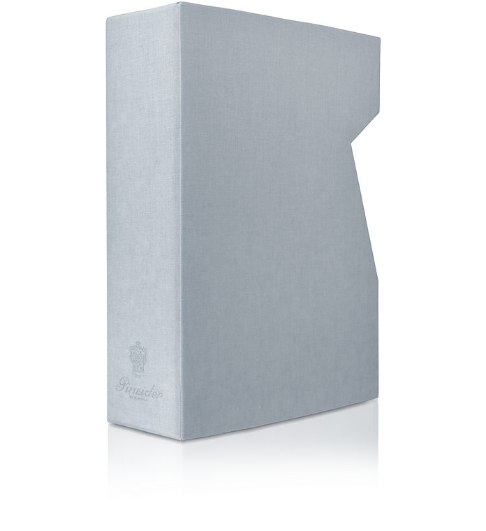 Power Elegance - Stone Gray Medium Photo Album Case - Pineider