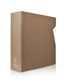 Power Elegance -  Taupe Large Photo Album Case - Pineider