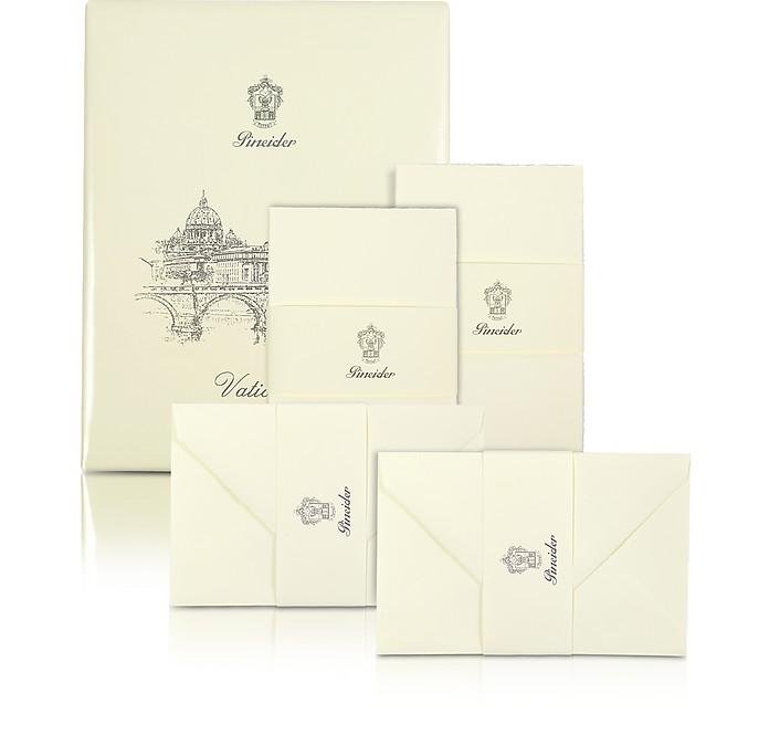 Vaticano - 25 Karten in elfenbeinfarben - Pineider