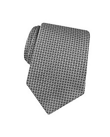 Silver Ceremony Silk Extra-Long Tie - Forzieri