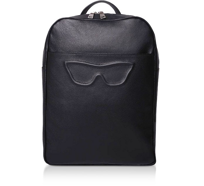Private Posh Work Leather Laptop Backpack - Poshead
