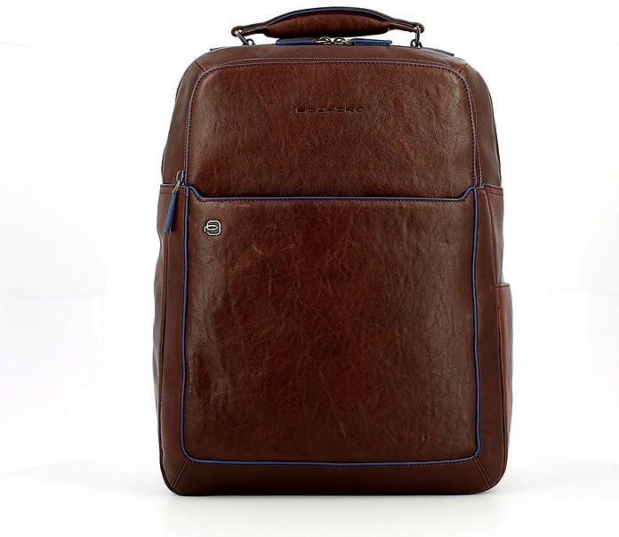 Men's Brown Backpack - Piquadro
