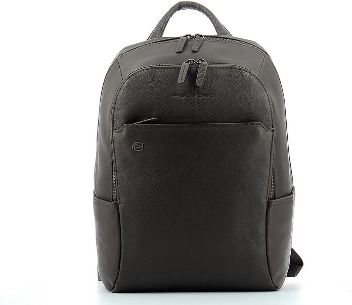 Men's Brown Backpack - Piquadro