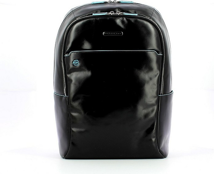 Men's Black Backpack - Piquadro
