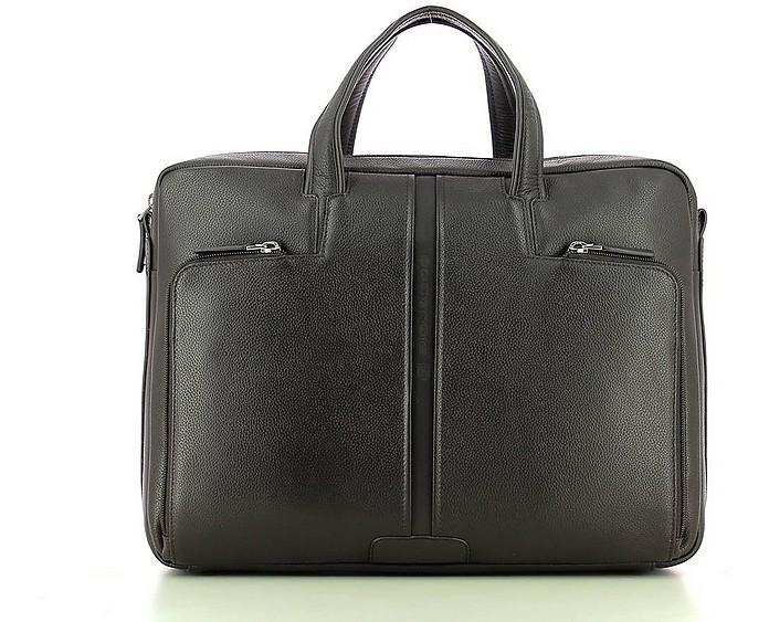 Men's Brown Briefcase - Piquadro