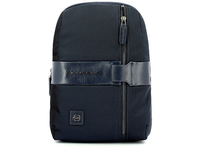 Men's Blue Crossbody Bag - Piquadro