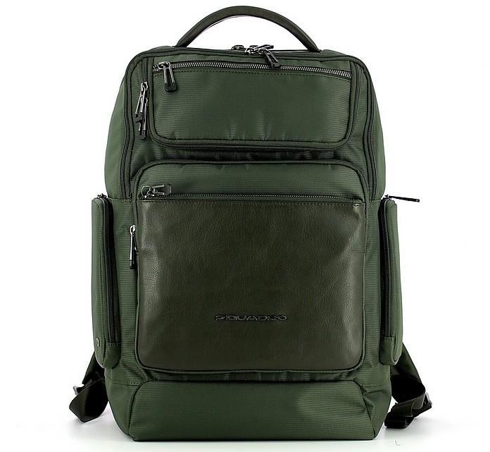 Men's Green Backpack - Piquadro