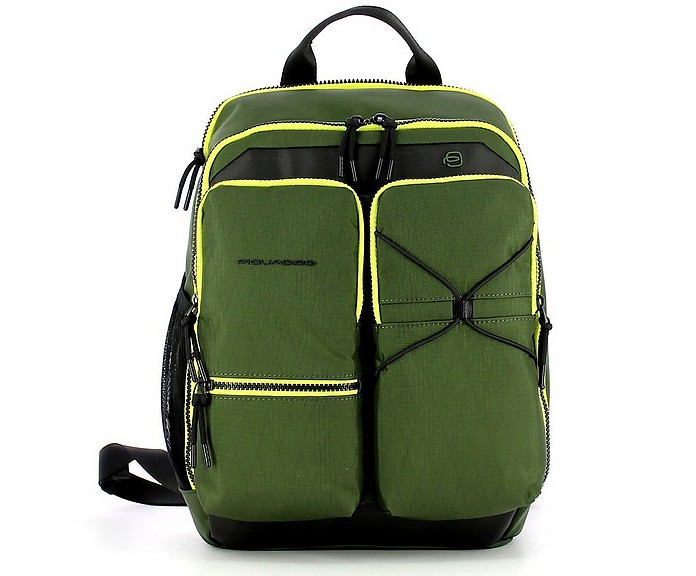 Men's Green Backpack - Piquadro
