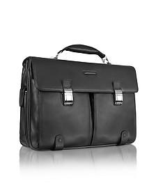 Front Pocket Laptop Briefcase - Piquadro