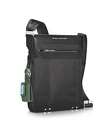 Link - Shoulder Zippered Bag - Piquadro