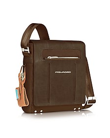 Link - Vertical Messenger Bag - Piquadro