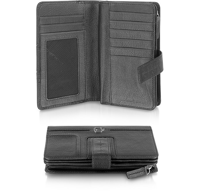 Vibe - Leather Flap Wallet  - Piquadro