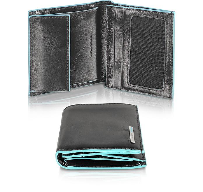 vendita calda online 40e07 17d93 Blue Square - Portafoglio Uomo Pocket in pelle