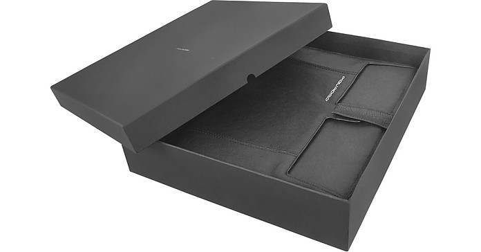 up2date porte bloc notes en cuir fermeture clair. Black Bedroom Furniture Sets. Home Design Ideas