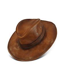 Genuine Leather Hat - Pratesi