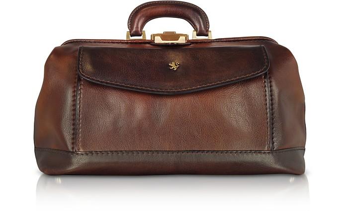 Doktor-Tasche aus echtem Leder - Pratesi