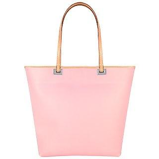 Medium Italian Tote Jelly Bag with Leather Trim - Forzieri
