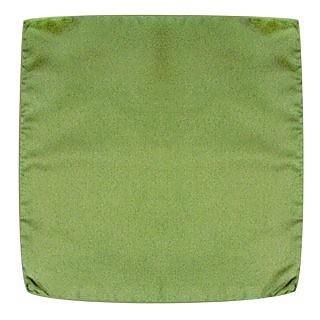 Pochette in seta tinta unita Forzieri Verde Smeraldo 78glcQ