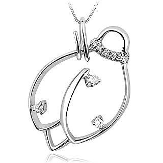 Ladybug 18K Gold Diamond / Sapphire Pendant Necklace - Forzieri