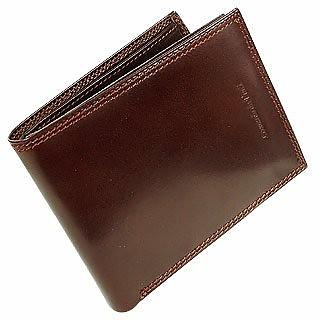 addcef9d387a Leonardo Da Vinci Dark Brown Men s Italian Genuine Leather Billfold ...