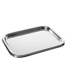 Stainless Steel Rectangular Tray  - Alessi